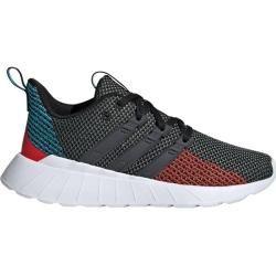Adidas Questar Flow Schuh, Größe 32 In Cblack/gresix/actred, Größe 32 In Cblack/gresix/actred adidas