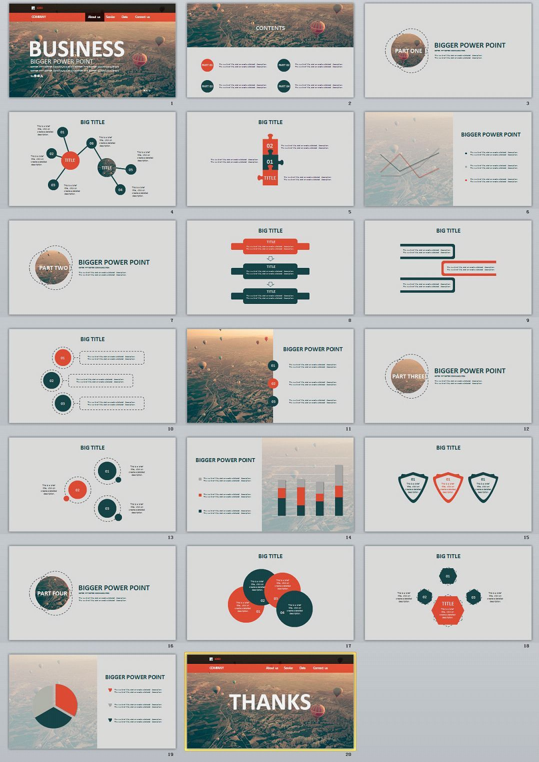 20 concise business ppt template 0 pinterest business ppt