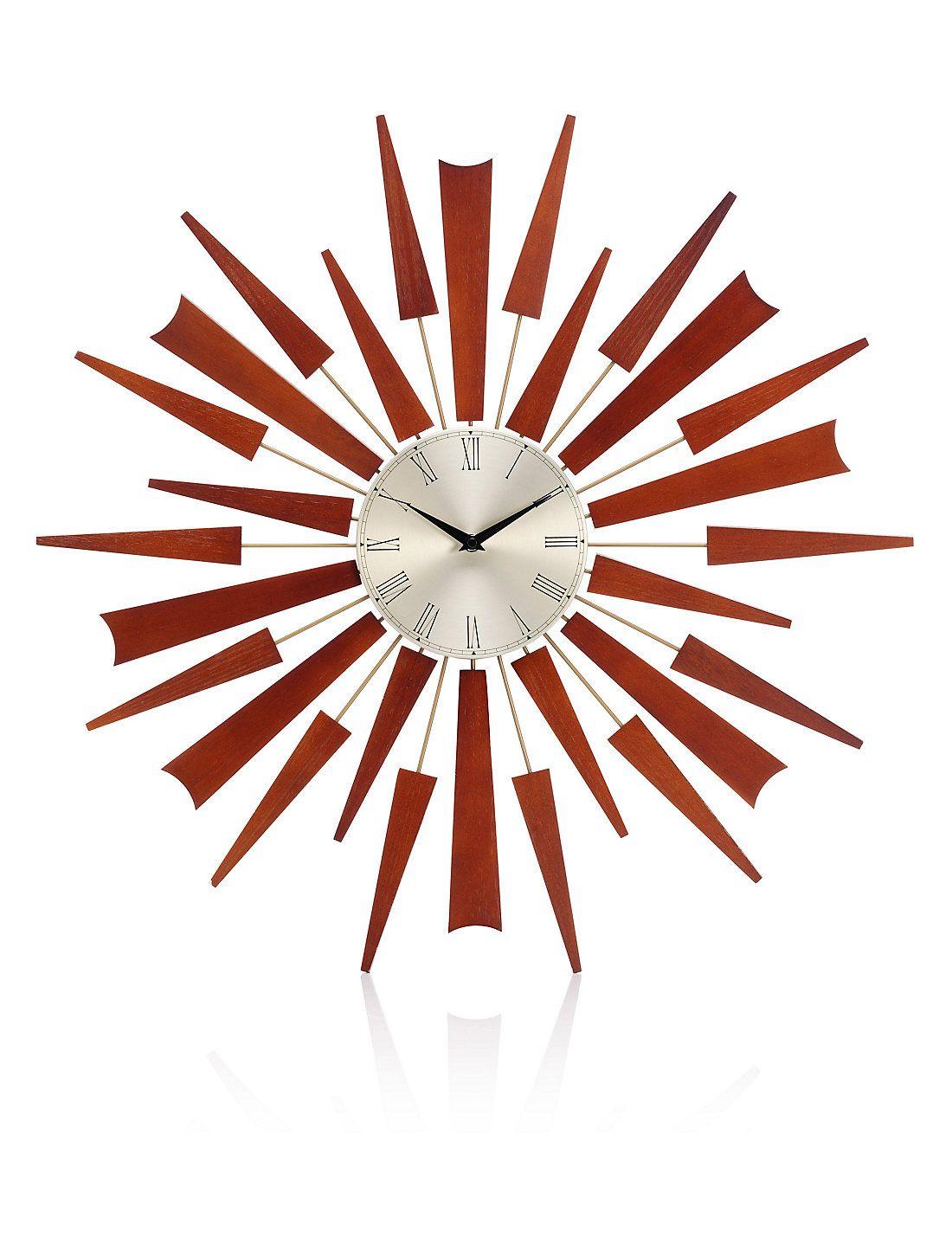 Sputnik Wall Clock