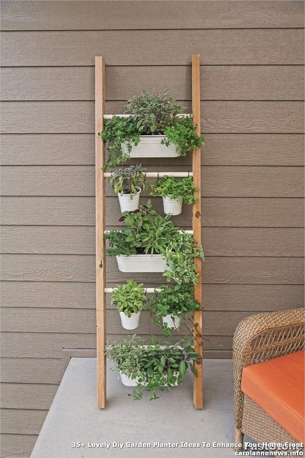 35+ #Lovely #Diy #Garden #Planter #Ideas #To #Enhance #Your #Home #Front