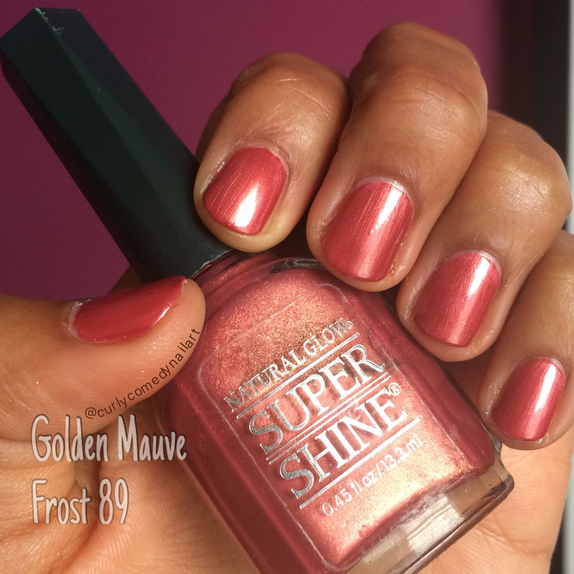 Naturalistics Natural Glow Super Shine in Golden Mauve Frost 89 | My ...