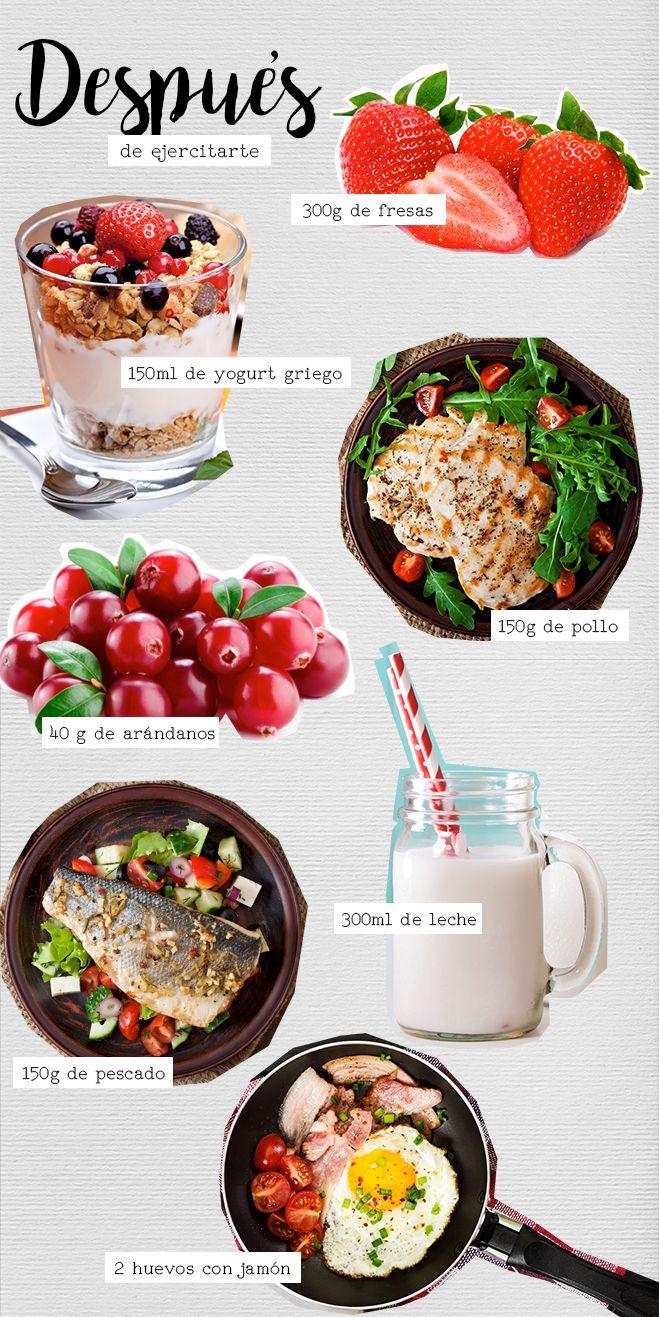 Recetas de comida saludable para gym