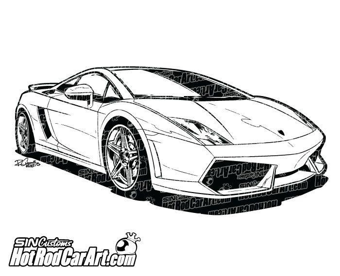 Pin By Sin Customs Hot Rod Car Art On Automotive Clip Art