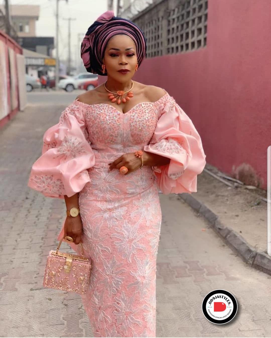 Aso Ebi Styles To Inspire Your Next Owambe Outfit In 2020 Aso Ebi Lace Styles African Lace Styles African Print Fashion Dresses