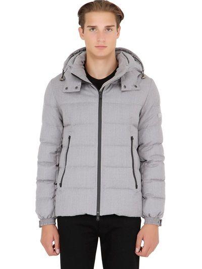 Tatras Elegance Lirone Wool Down Jacket #mensfashion