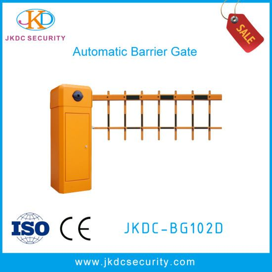 Automatic Boom Arm 2 Fences Parking Traffic Barrier Gate for