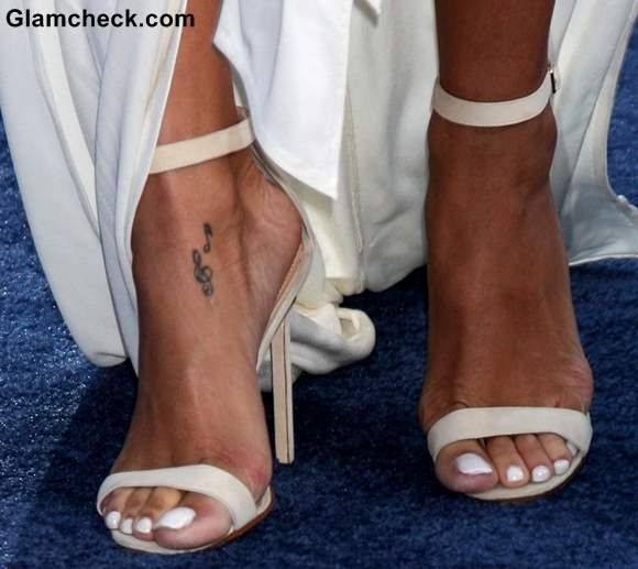 Celebrity Feet Tattoos Foot Tattoos For Women Foot Tattoo Tattoos