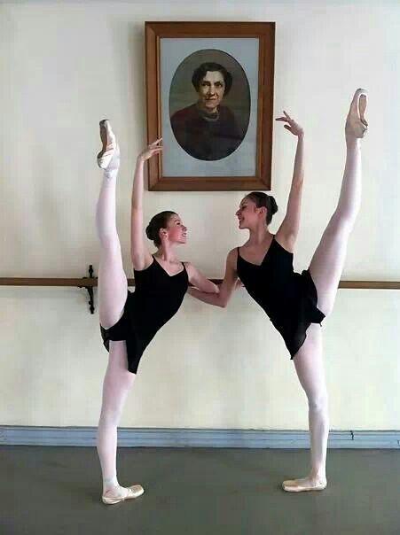 Students at the Vaganova Ballet Academy