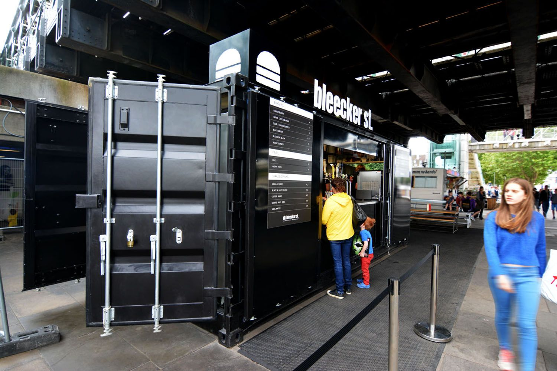 Shipping container burger bar denenecek projeler for Food bar manufacturers