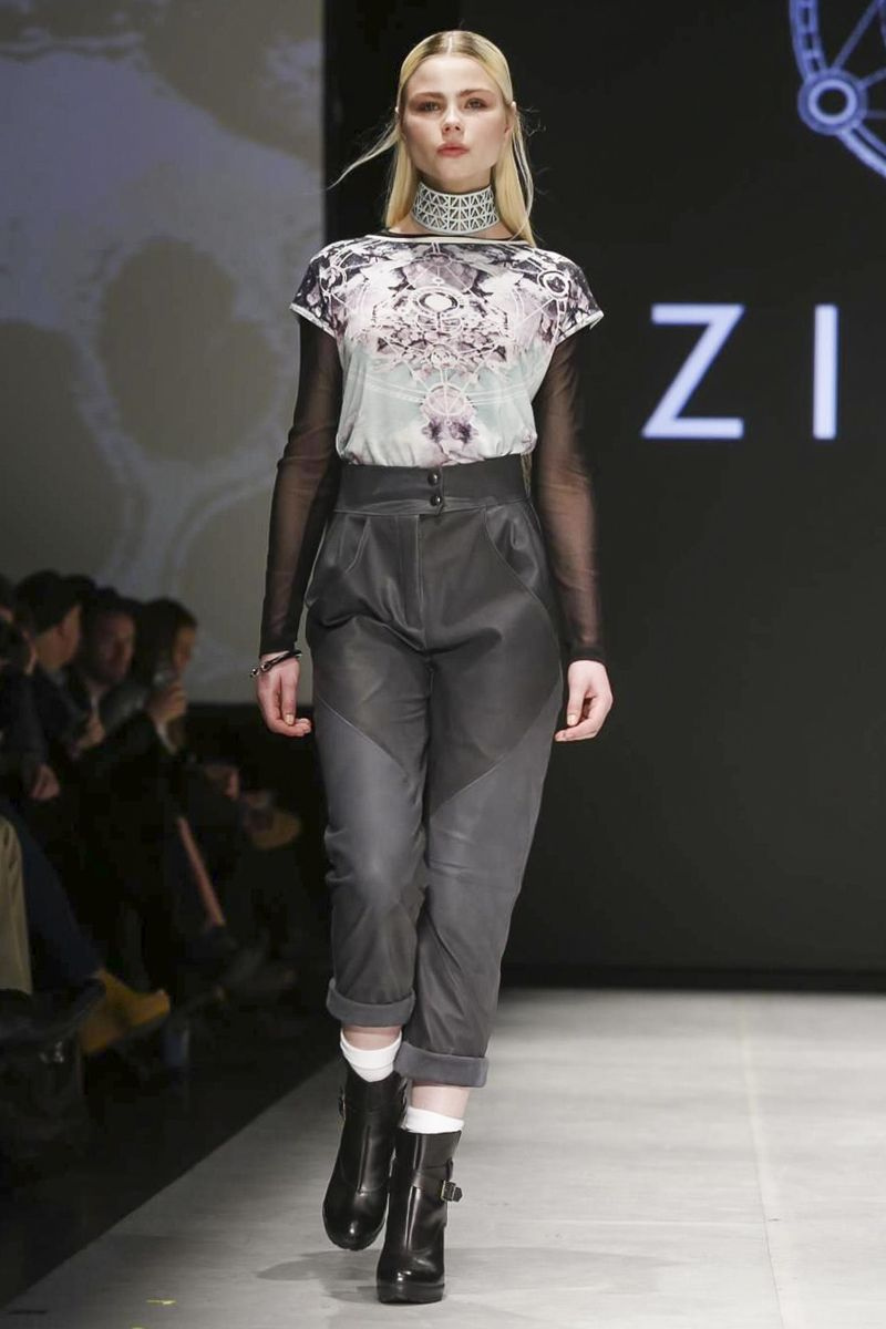 Ziska Ready To Wear Fall Winter 2014 Reykjavik - NOWFASHION