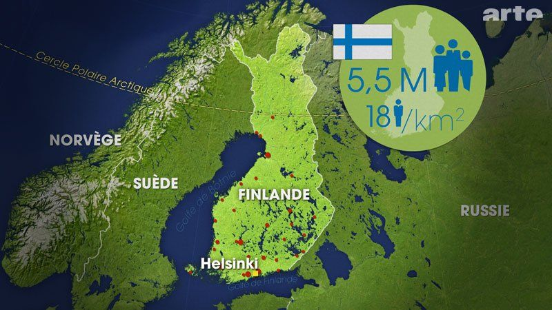 Pin Auf Finnland Am Rande Europas Mit Offenen Karten Der