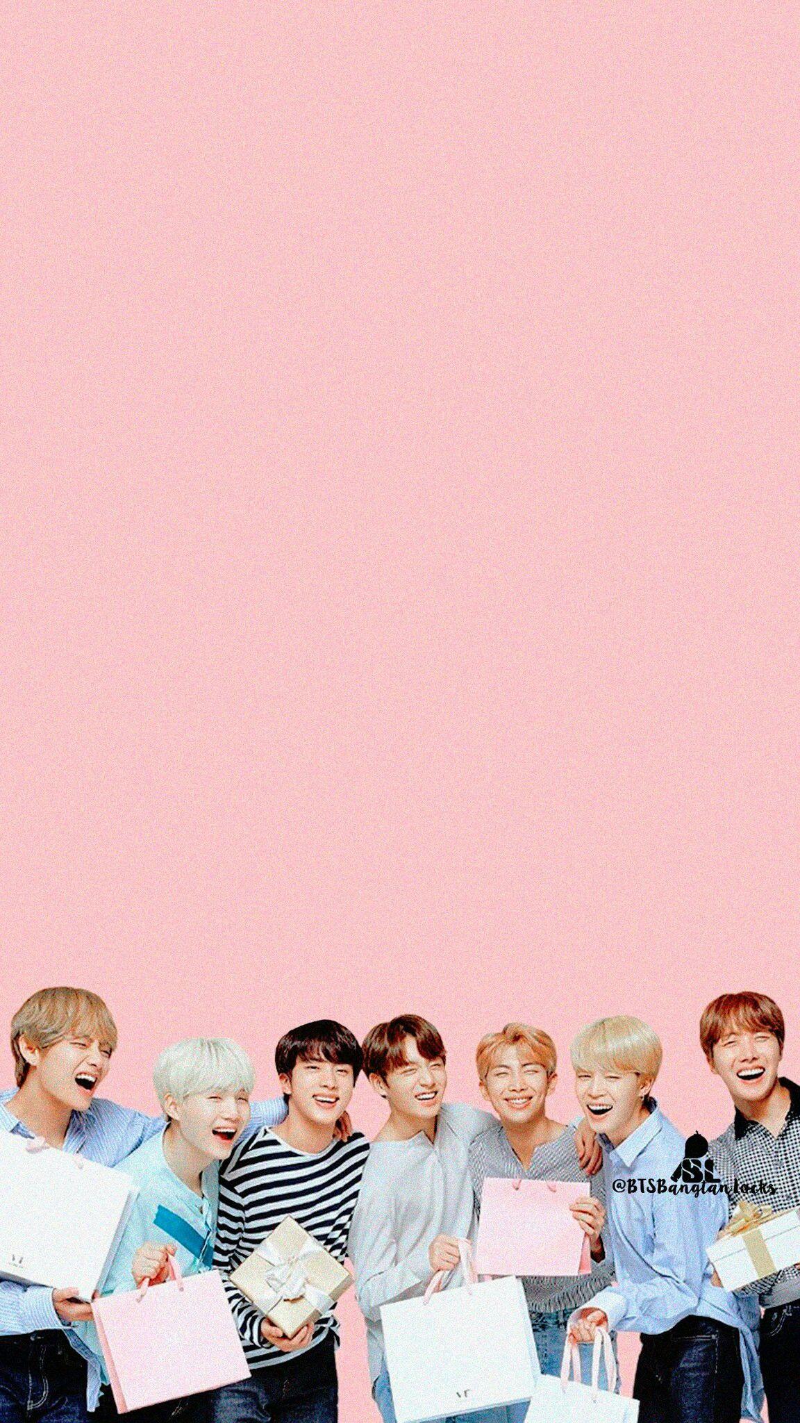 Bts Wallpaper Bts Wallpaper Bts Backgrounds Bts Pictures Bts wallpaper pink background