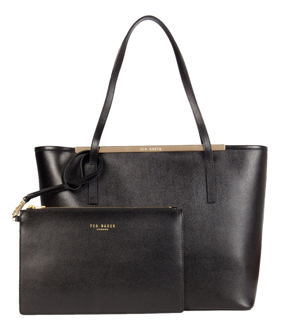 Isbell Crosshatch Leather Shopper Handtassen Ted Baker. (€195,00)
