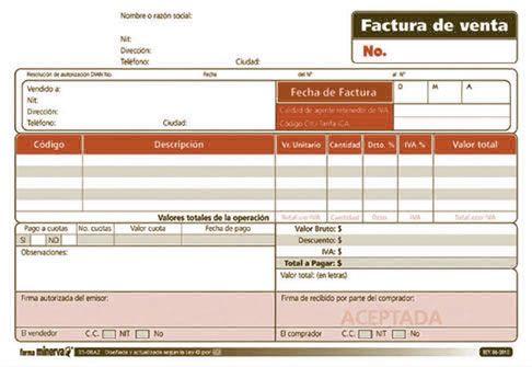 Factura de venta factura de Isabel Herrera Bar chart, Chart y
