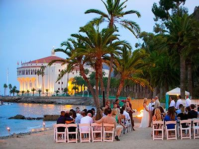 Descanso Beach Club And Other Beautiful Avalon Wedding Venues Read Detailed Info On Santa Catalina Island Reception Locations