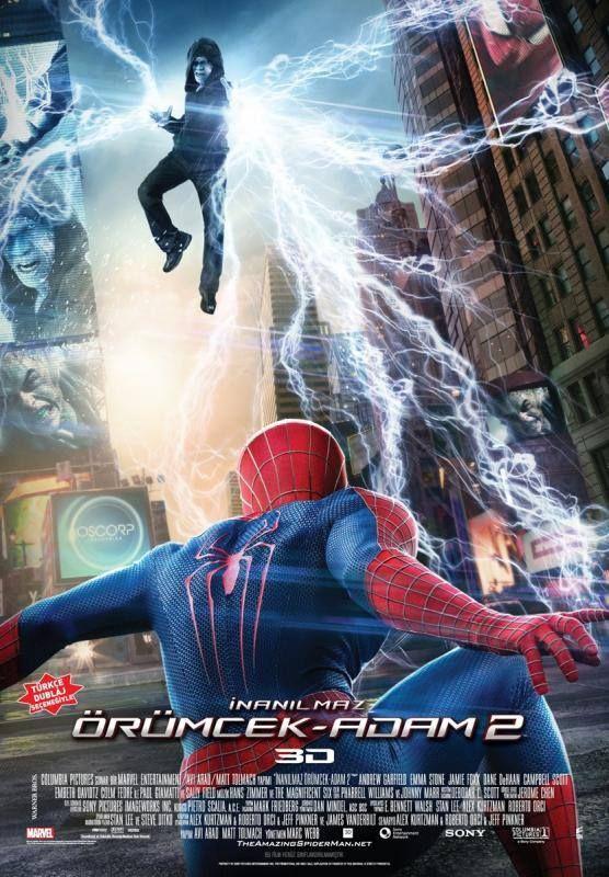 The Amazing Spider Man 2 142 DK Seanslar 1230