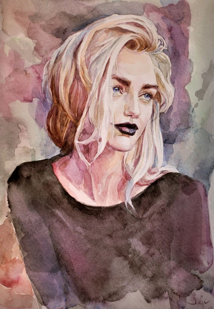 About the love of watercolor … Sonya / Watercolorist