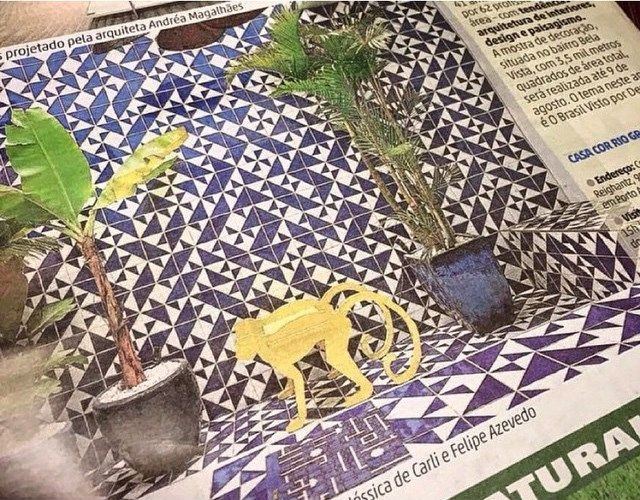 Jornal Zero Hora | Junho 2015 // Shop Online www.lurca.com.br/ #azulejos #azulejosdecorados #revestimentos #arquitetura #interiores #decor #design #sala #reforma #decoracao #geometria #casa #ceramica #architecture #decoration #decorate #style #home #homedecor #tiles #ceramictiles #homemade