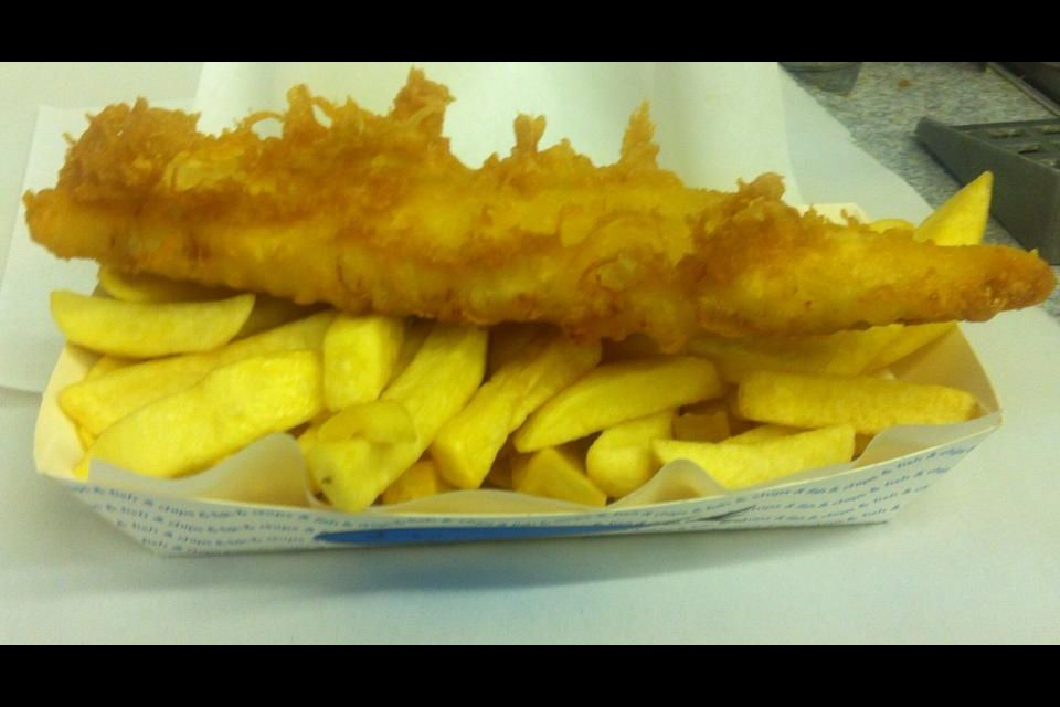 Fish And Chips Gorran Haven Fish And Chips Food Chips