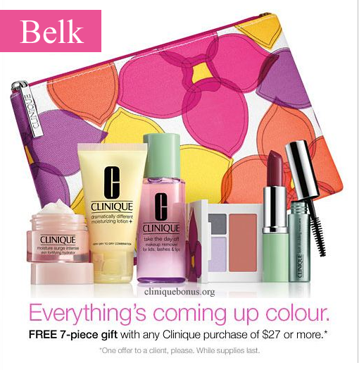 Belk bonus time! This gift with your choice of color and