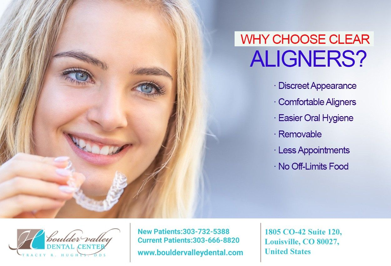 Invisible Clear Aligners Louisville CO Six Month Smiles