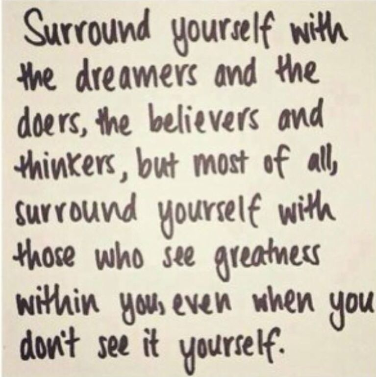 Surrounding Yourself With Positive People Breeds More Positivity