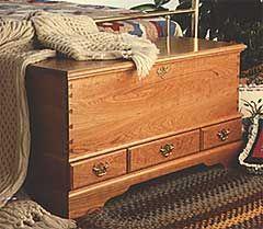 Blanket Chest Woodworking Plan Indoor Furniture