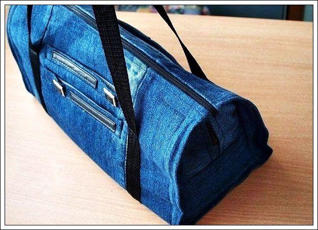 1cef97e35eff Как сшить сумку своими руками из старых джинсов (пошаговый фотоотчет ...