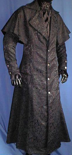 Box Brocade coat