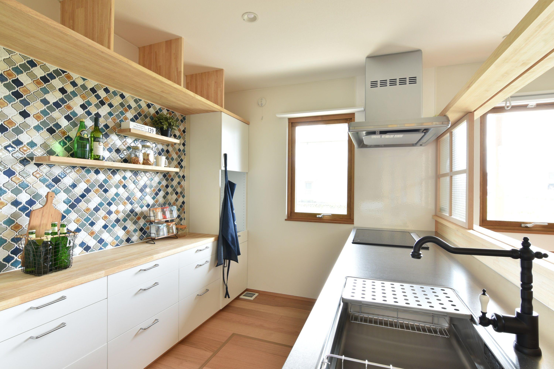 コラベルのあるキッチン インテリア 家具 イケア キッチン