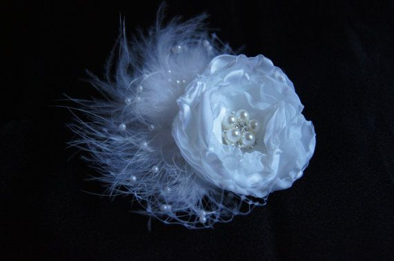 Bridal Hair Accessory Bridal Hair Flower by ItsUpDoYouBoutique, $32.00