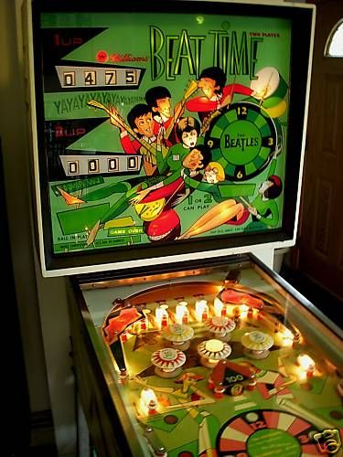 Image result for beatles pinball machine