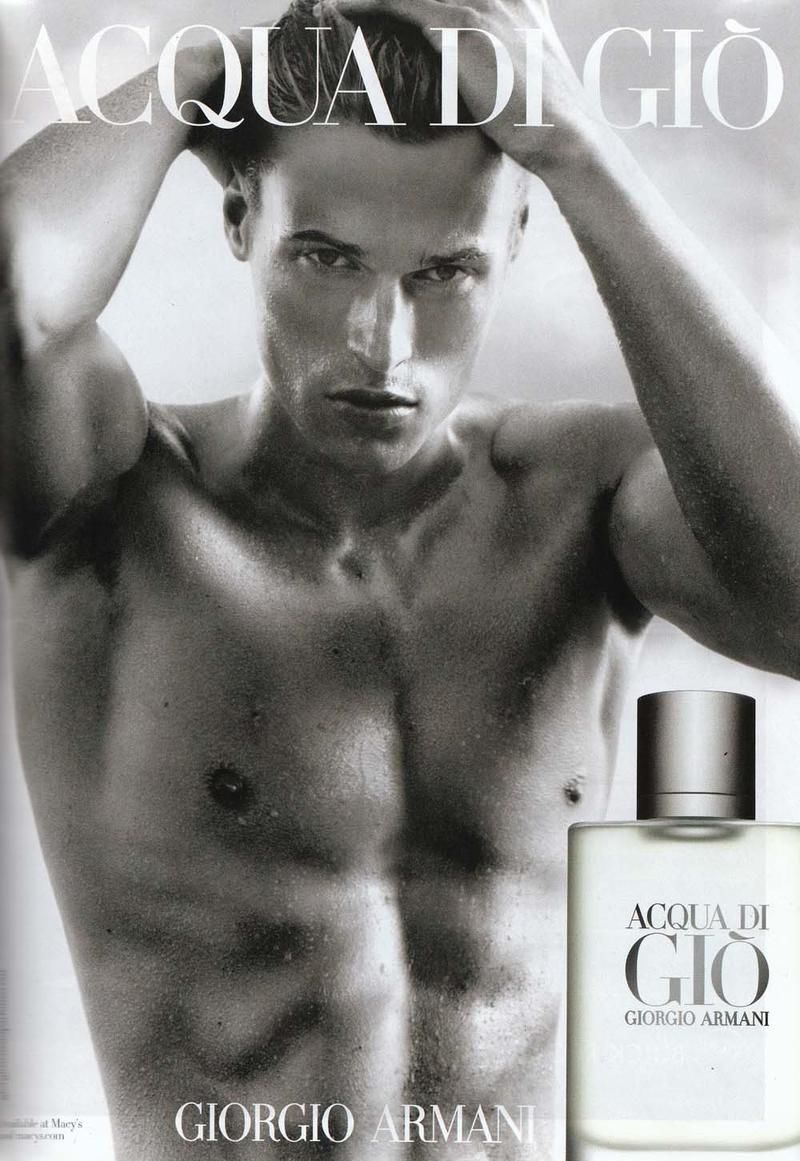 Giorgio Armani Acqua Di Gio Fragrance 2011 Ad Campaign Perfumes