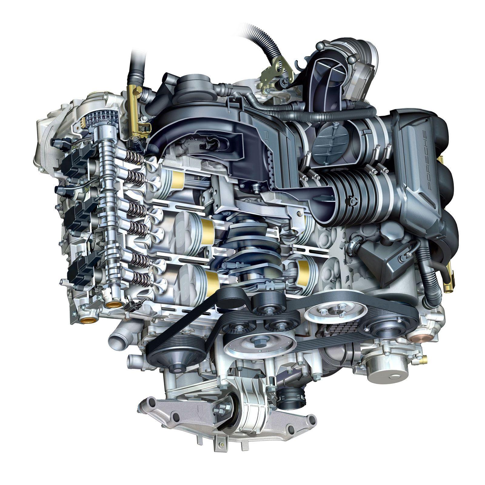 2007 Porsche Cayman S 295bhp 3 3l 0 60 N 5 1sec Horizontally Opposed Flat 6 Boxer Engine