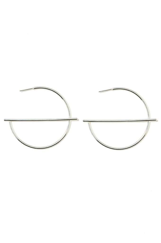 Raising The Bar Hoop Earrings