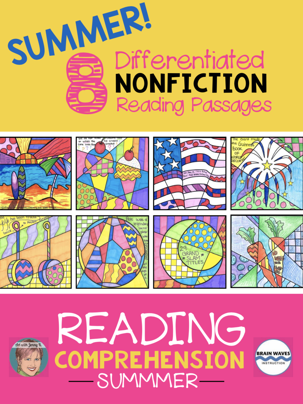 Summer Packet Nonfiction Reading Comprehension Passages