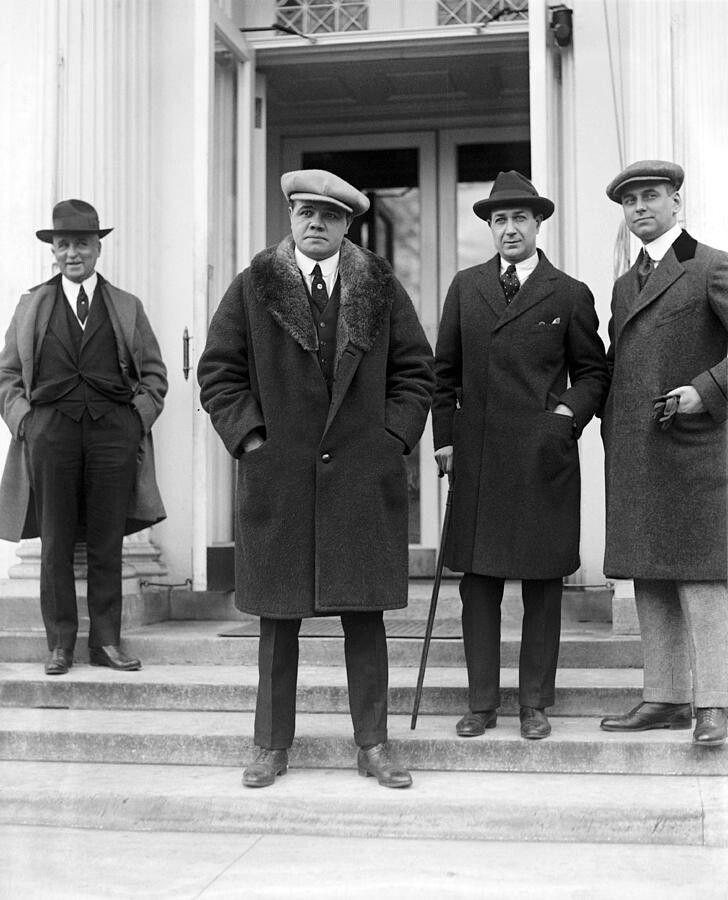 Babe Ruth Trenchcoat Mafia  George Herman -6000