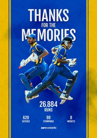 There was no fairytale finish but their careers had given Sri Lankan fans plenty of joy over the years