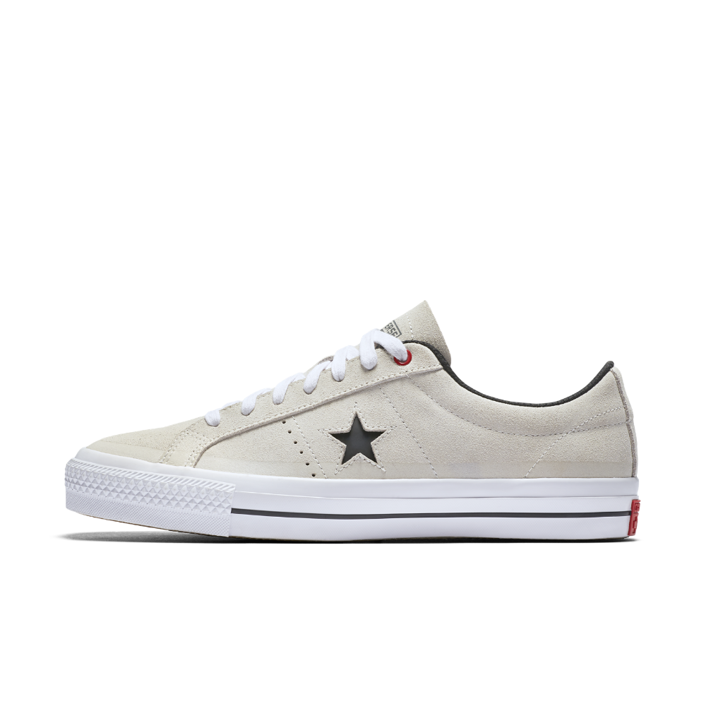 Converse CONS One Star Pro Suede Low Top Skateboarding Shoe Size 7.5 (Cream)  - Clearance Sale 04d2aa4af
