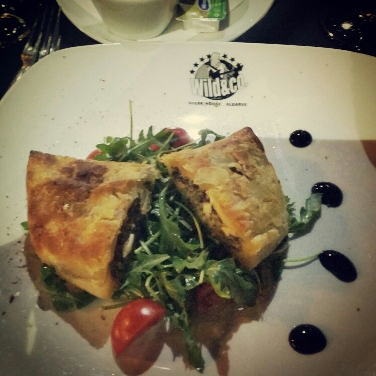 Goat cheese in puff pastry Wild and Co Albufeira Portugal Daniela's favourite Xx