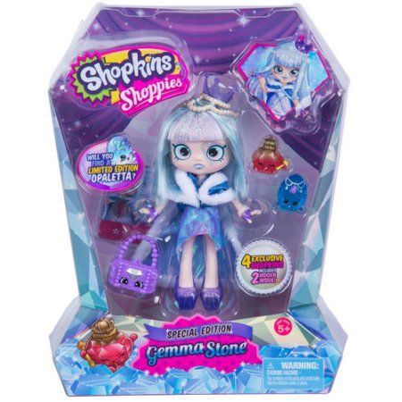 Limited Edition Shopkins Shoppies Gemma Stone Shopkins Black Friday And Walmart