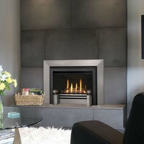 valor ventana gas fireplace with metropolis fret and front by miles rh pinterest co uk