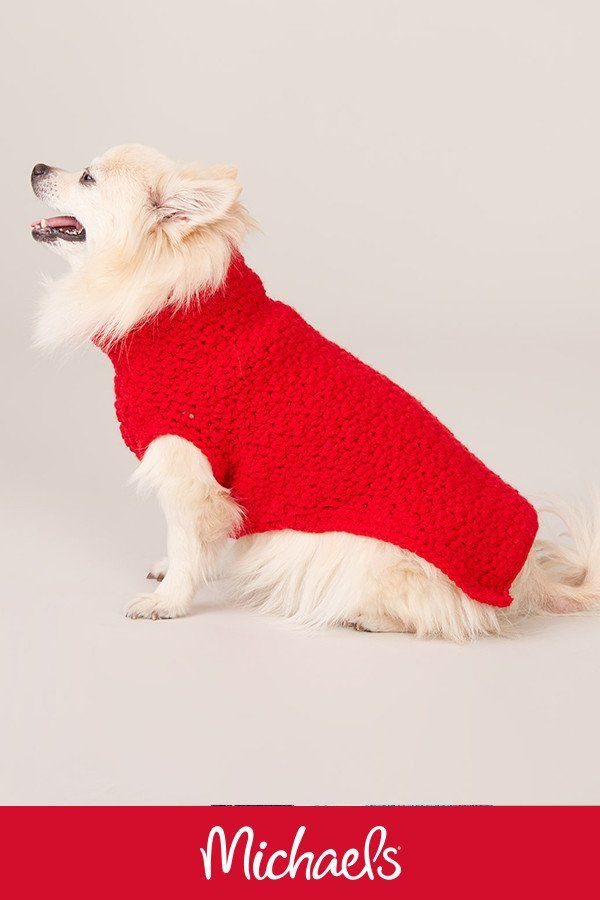 Caron® Kindness™ Crochet Dog Coat | Crochet | Pinterest | Vestidos ...