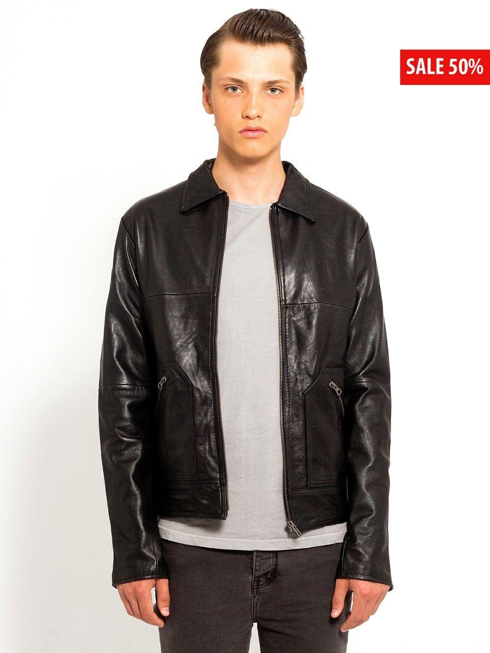 ba914403048 Mens Straight Jacket via Deadwood. John Varvatos Star USA Leather Moto  Jacket