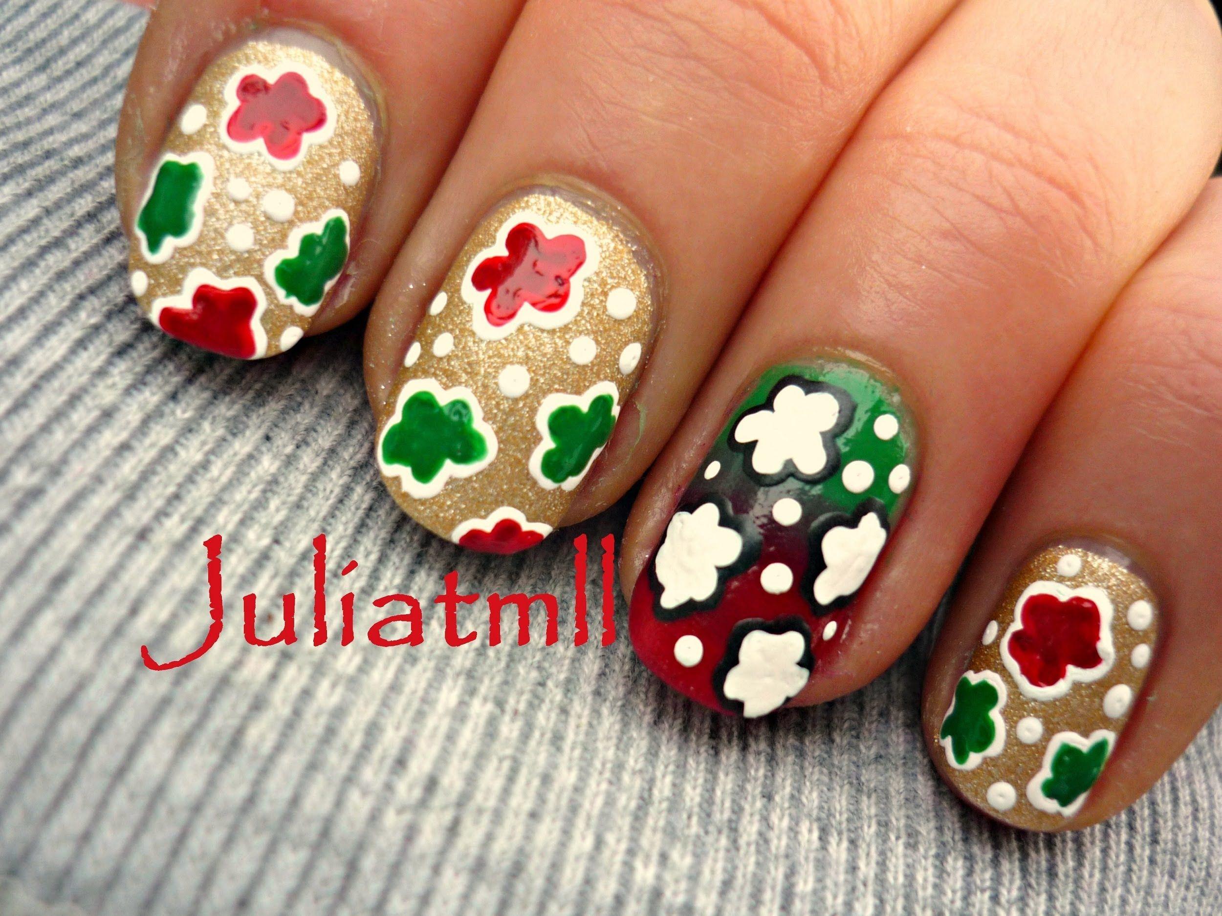 Christmas Nail Art Tutorial Opi Gwen Stefani Collection Nails I