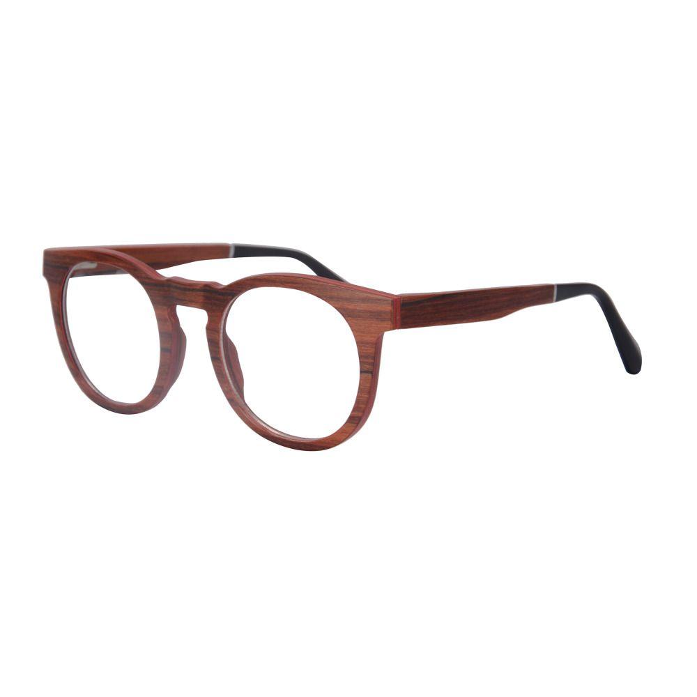 shinu high quality round vintage wood frame myopia eyeglasses sh73010 tag a friend who would love - Wood Frames Glasses