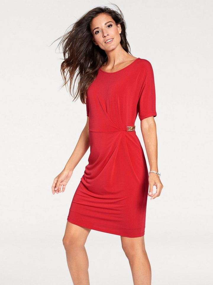 watch where can i buy good selling heine TIMELESS Jerseykleid Wickeloptik | Fashion_Sept_01 ...