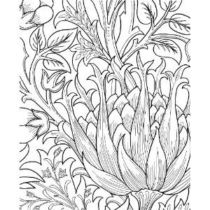 william morris coloring pages via tipigal squidoo books coloring