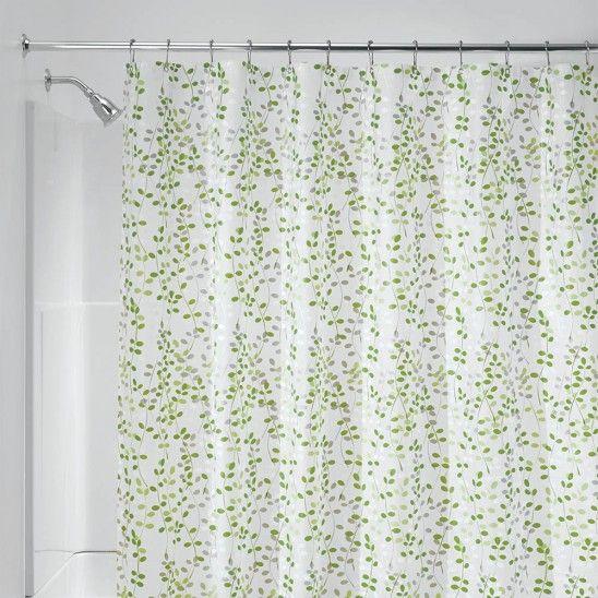Vine Vinyl Peva Shower Curtain Shower Curtain Curtains Vinyl