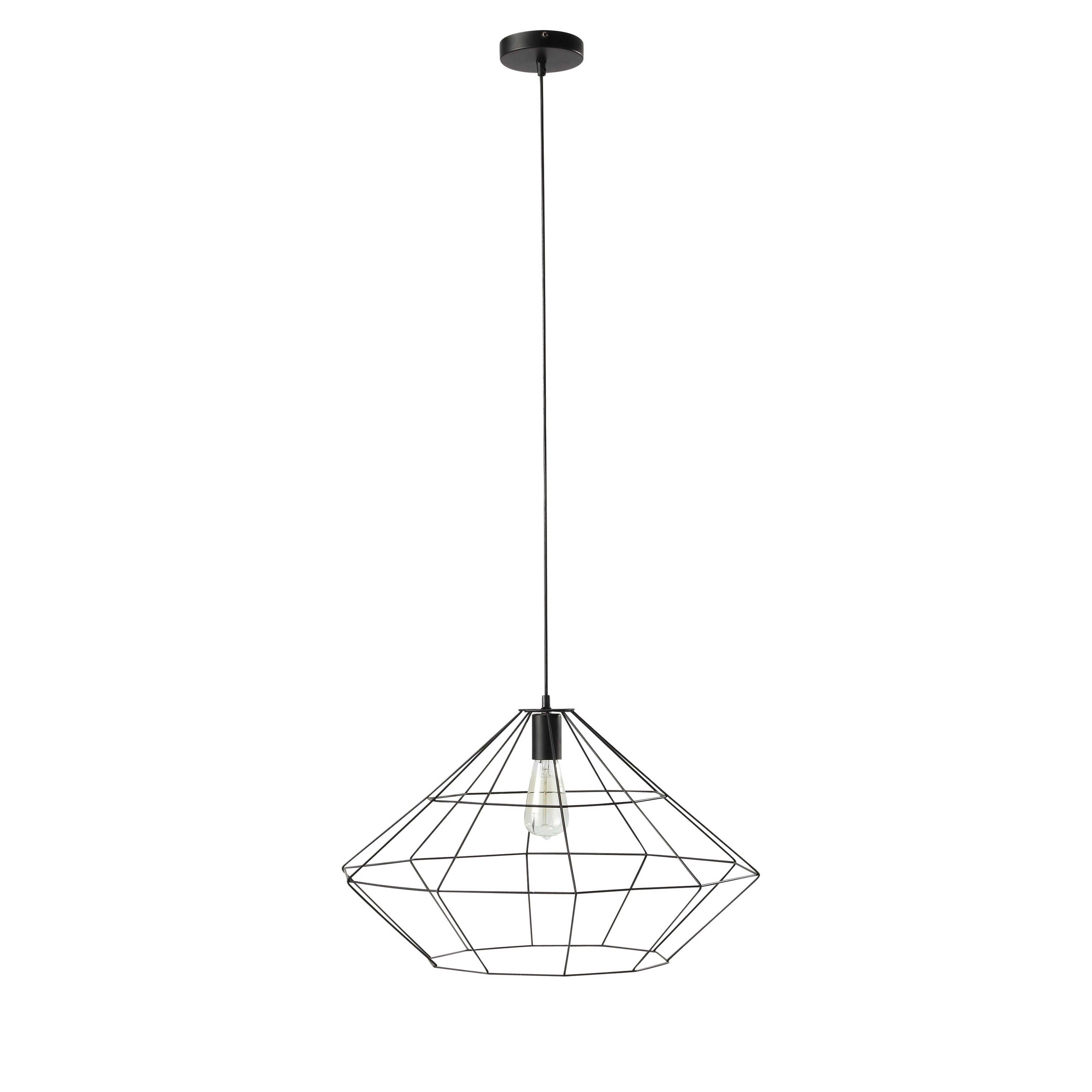 Hängeleuchte aus schwarzem Metall B57 | Einrichtung | Pinterest ...